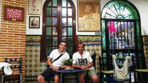 Mario Bruzón y Abel Sierra